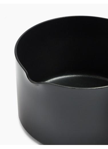 Marks & Spencer 14 cm Alüminyum Yapışmaz Tencere Siyah